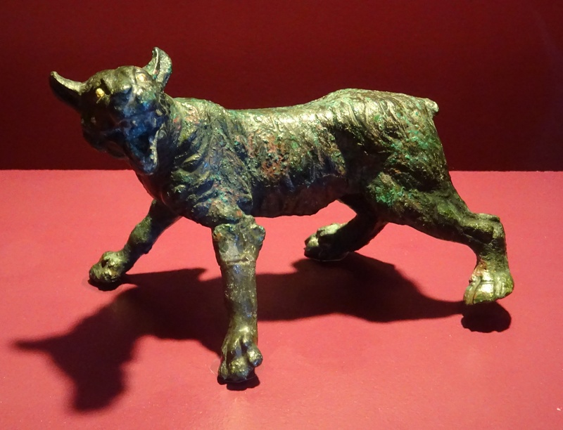 Bavay, Roman figurine of a panther