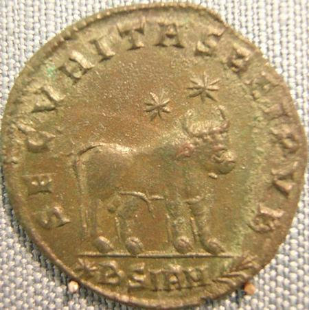 The Apis on a coin of Julian the Apostate
