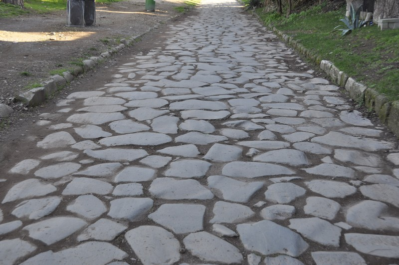 Rome, Via Appia (008), Street pavement