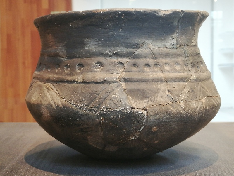 Ezinge, Late ancient pottery