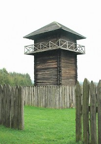 Schwabsberg, tower (old reconstruction)
