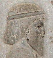 A Bactrian. Relief from the eastern stairs of the Apadana at Persepolis.