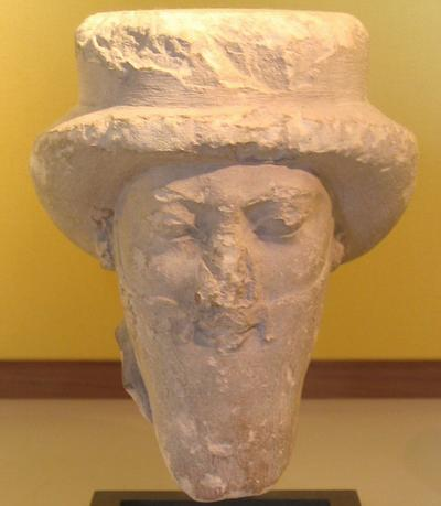 Persian nobleman; statue from Egypt