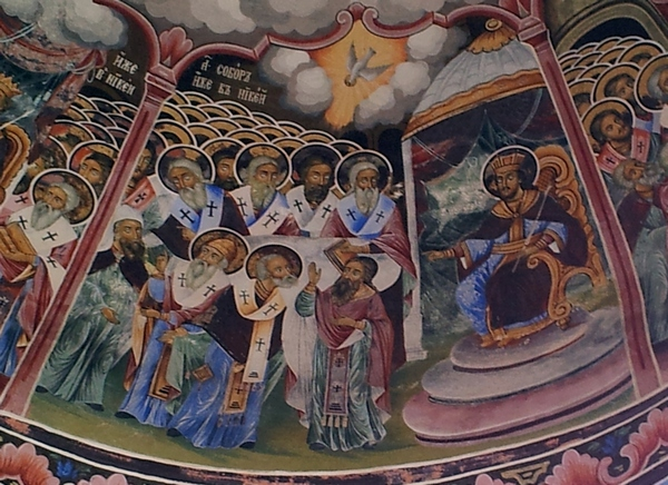 The First Council of Nicaea (325)