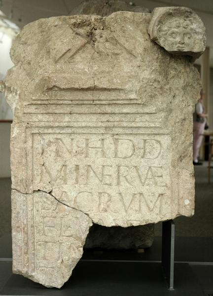 Tombstone with Minerva´s owl