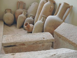 Amphoras from Wadi Qaam