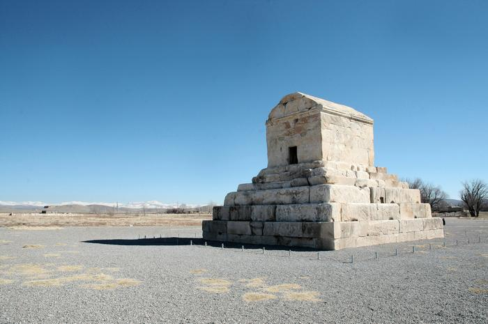 Psargadae, Tomb of Cyrus (1)