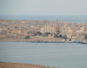 Tobruk, view