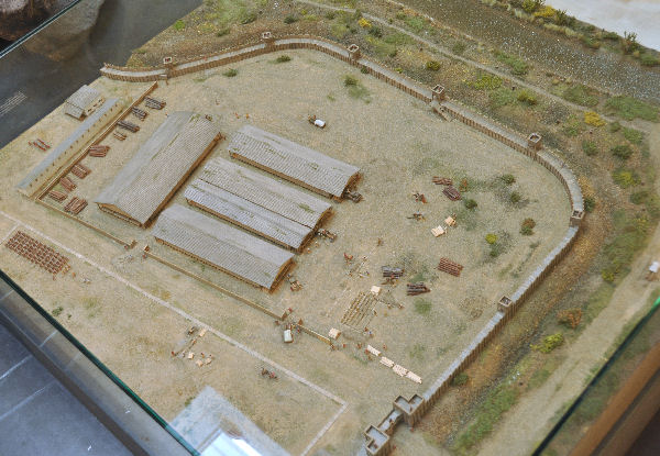 Model of the eastern part of Anreppen