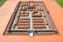 Model of the Roman fort