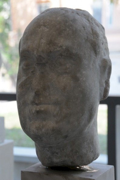 Unfinished portrait of Vitellius