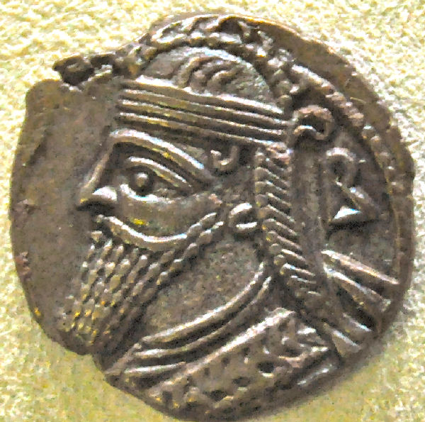 Vologases IV, coin