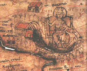 Antioch on the Peutinger Map