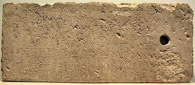 The Meteriola inscription (13.7813)