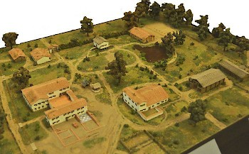 Model of the Roman villa at Jülich-Hambach