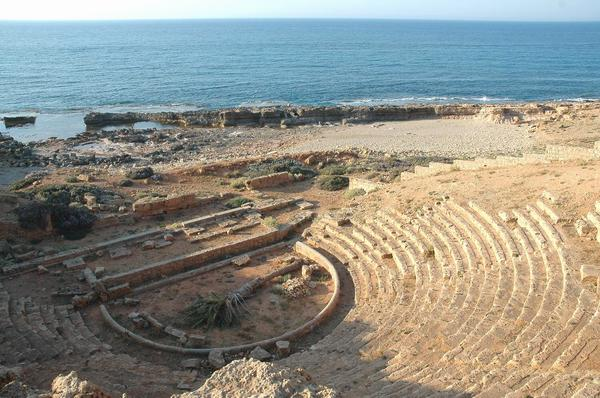 Apollonia, theater