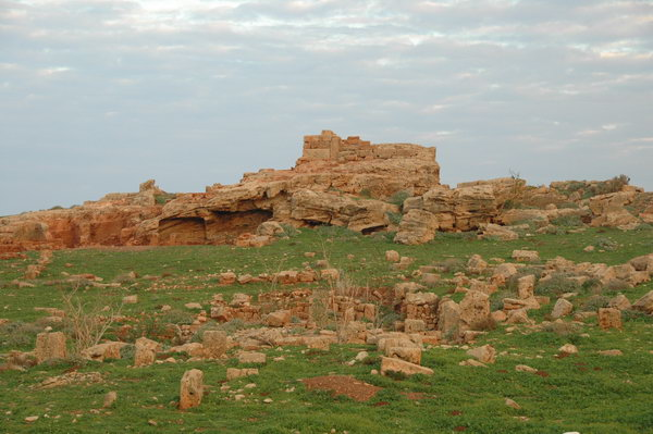 Apollonia's unexcavated acropolis