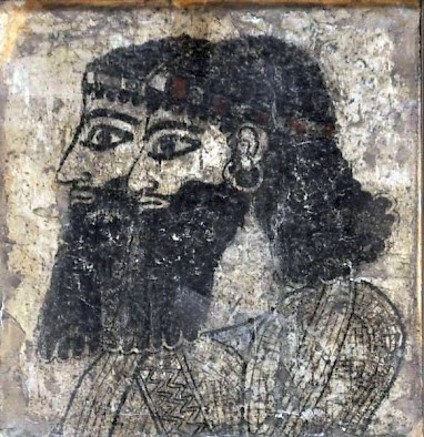 Two Assyrian courtiers from Til Barsib