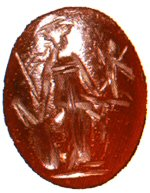 Minerva on a cameo