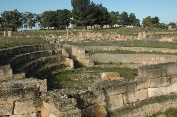 The Asclepium of Balagrae, Odeon