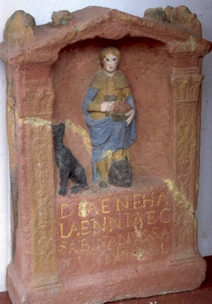 Reconstruction of a dedication to Nehalennia