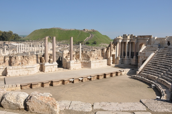 Scythopolis, theater