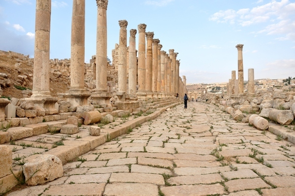 Gerasa, colonnaded road