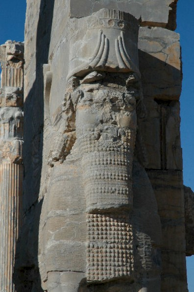 Persepolis, Gate of All Nations, lamassu