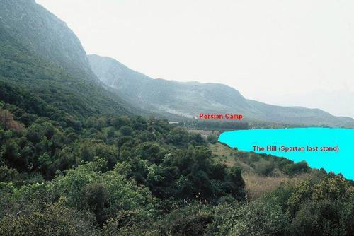 Thermopylae, Attempt to reconstruct the ancient landscape