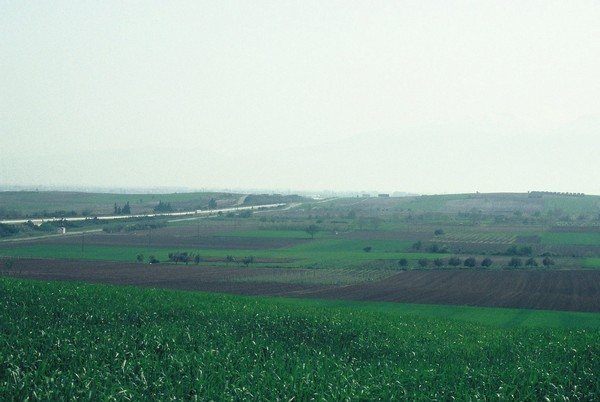 Pydna, Battlefield, seen from the north