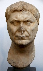 Portrait of a Roman man (80-100 CE)