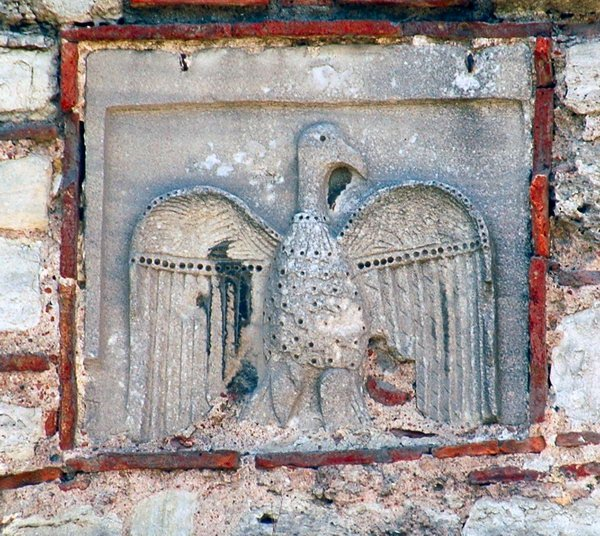 Early Byzantine eagle, north of the Golden Gate (Constantinople)