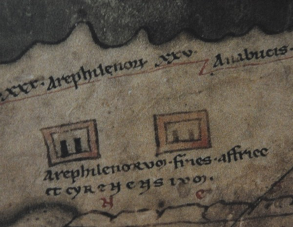 Arae Philaenorum (Peutinger Map)
