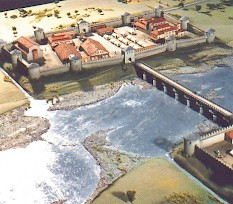 Model of Late Roman Maastricht