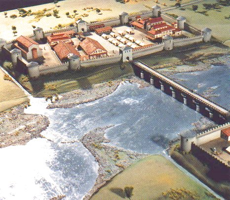 Maastricht, Model of the late Roman fort
