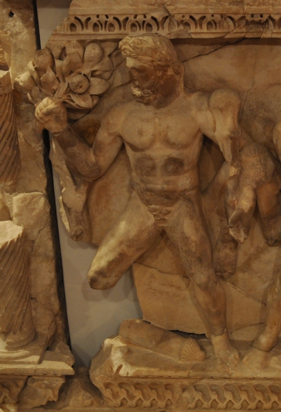 Perge, Heracles sarcophagi 11: Heracles and the Apples of the Hesperides