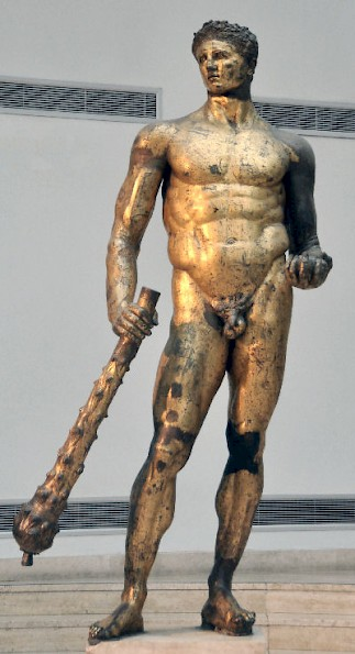 Domitian as Hercules