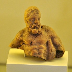 Terracotta Heracles from Babylon