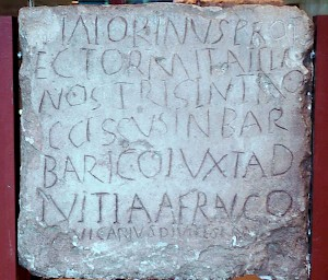 Tombstone of Viatorinus