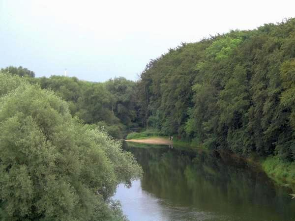 The Lippe near Beckinghausen