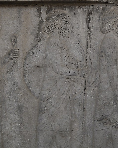 A Carian. Relief from the East Stairs of the Apadana, Persepolis