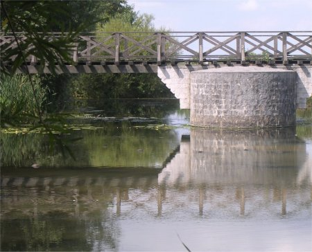 Bridge at Palzem, reconstruction